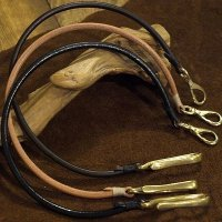 "Opus ""Wallet Rope"" round saddle leather"