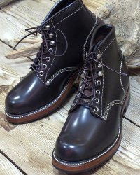 "TOYS McCOY -WORK BOOTS ""SURVEYOR""- GLASS LEATHER"