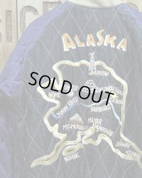 """TAILOR TOYO """"ALASKA MAP"""" VELVETEEN SUKA"""