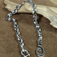 """Inception """"F-HOLE WALLET CHAIN / SILVER PLATING"""""""