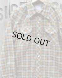 TOYS McCOY -TAXI DRIVER™ PRINTED COTTON CHECK WESTERN SHIRT-