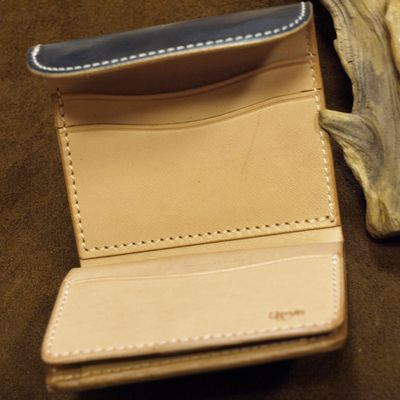 """画像2: Opus """"MINI WALLET"""" UK BRIDLE Leather"""