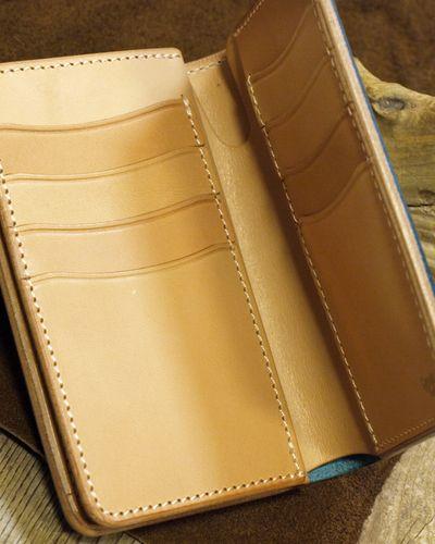 """画像3: Opus """"MIDDLE WALLET"""" BUTTERO Leather"""