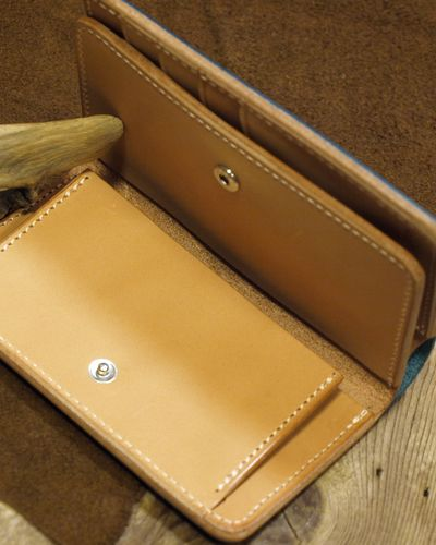 """画像4: Opus """"MIDDLE WALLET"""" BUTTERO Leather"""