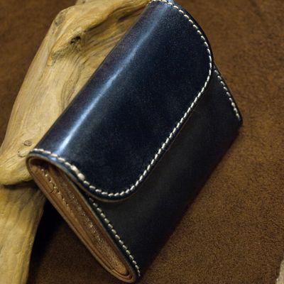 """画像5: Opus """"MINI WALLET"""" UK BRIDLE Leather"""