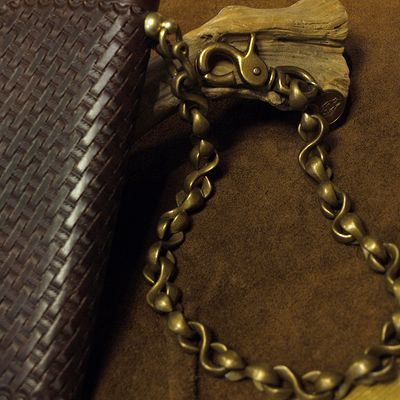 "画像5: Opus ""BRASS WALLET CHAIN"""