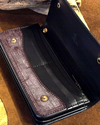 "画像2: Inception ""UK BRIDLE SOLID LONG WALLET"""