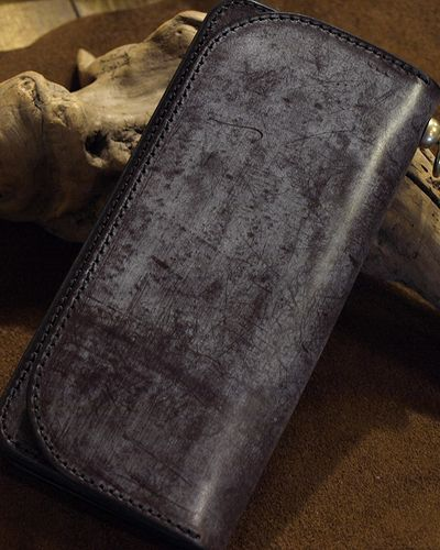 "画像1: Inception ""UK BRIDLE SOLID LONG WALLET"""
