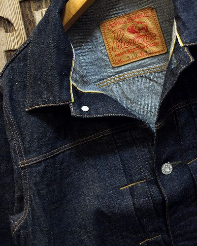 "画像3: Pherrow's ""510SW"" DENIM JACKET"