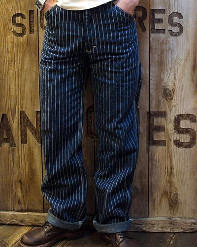 画像4: TOYS McCOY -RAILMAN TROUSERS WABASH-
