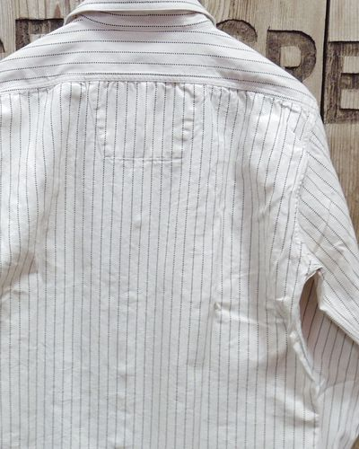 "画像5: Sugar Cane ""8.5oz. WHITE WABASH STRIPE WORK SHIRT"""