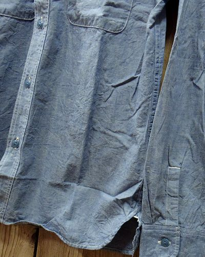 "画像4: FULLCOUNT ""BASIC CHAMBRAY SHIRTS"" 4810-15"