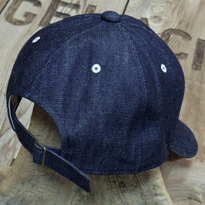 "画像4: FULLCOUNT ""6PANEL DENIM BASEBALL CAP"""