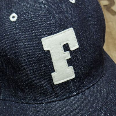 "画像2: FULLCOUNT ""6PANEL DENIM BASEBALL CAP"""