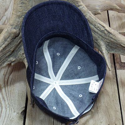 "画像5: FULLCOUNT ""6PANEL DENIM BASEBALL CAP"""