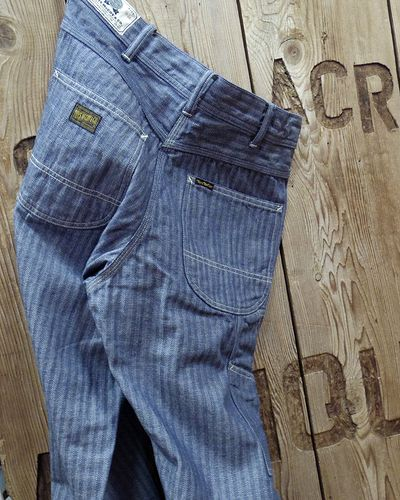"画像5: TOYS McCOY -PAINTER TROUSERS ""HERRINGBONE DENIM""-"