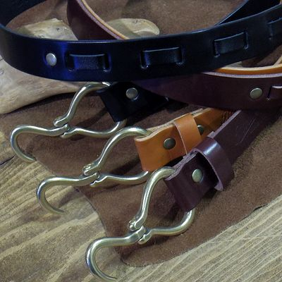 画像1: BARNS -HOOK BELT-
