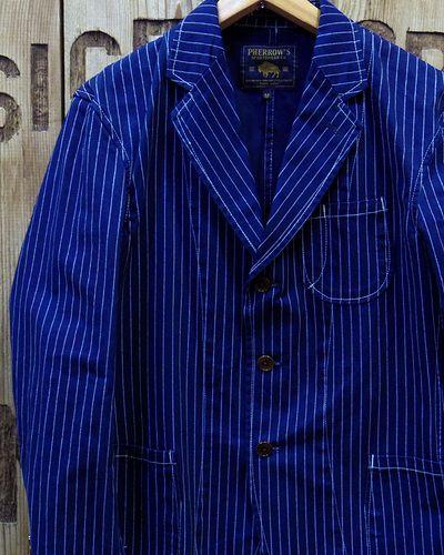 "画像1: Pherrow's ""17S-PCJ1-W"" Tailored Jacket"