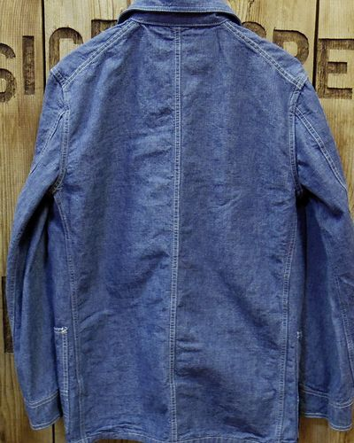 画像5: FULLCOUNT -SELVEDGE HEAVY CHAMBRAY COVERALL-