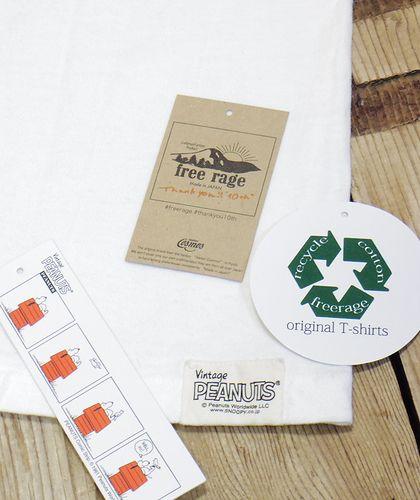 """画像5: FREE RAGE """"SMAK"""" Recycle Cotton Ringer Tee"""