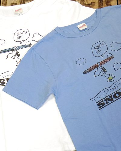 "画像1: FREE RAGE ""SURF'S UP!"" Recycle Cotton Tee"