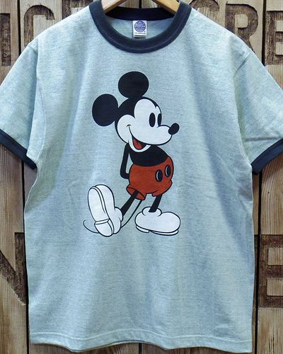 "画像2: TOYS McCOY -RINGER TEE COLOR HEATHER ""MICKEY MOUSE""-"