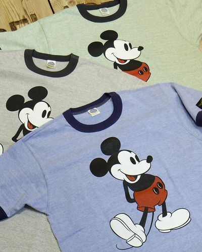 "画像1: TOYS McCOY -RINGER TEE COLOR HEATHER ""MICKEY MOUSE""-"