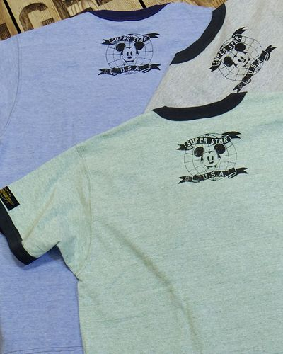 "画像5: TOYS McCOY -RINGER TEE COLOR HEATHER ""MICKEY MOUSE""-"