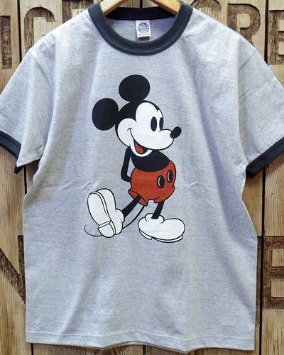 "画像3: TOYS McCOY -RINGER TEE COLOR HEATHER ""MICKEY MOUSE""-"