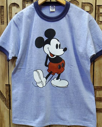 "画像4: TOYS McCOY -RINGER TEE COLOR HEATHER ""MICKEY MOUSE""-"