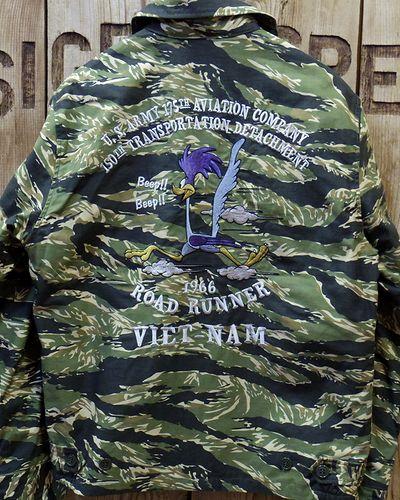 """画像5: TOYS McCOY -UTILITY JACKET TIGER STRIPE """"U.S. ARMY 175TH AVTN COMPANY""""-"""
