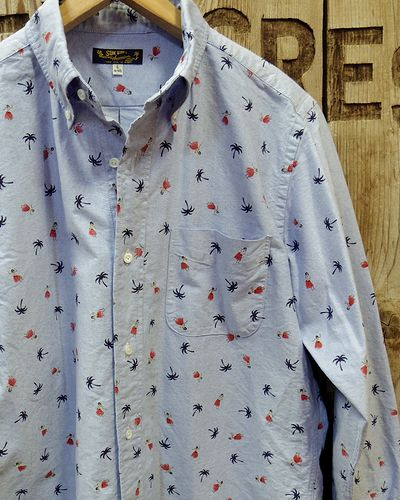"画像5: SUN SURF -""HULA DANCER"" OXFORD L/S B.D. SHIRT-"