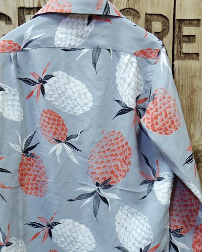 "画像5: FULLCOUNT -25th HAWAIIAN L/S SHIRTS ""PINEAPPLE""-"
