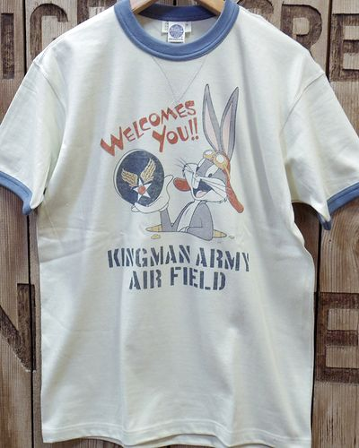 "画像3: TOYS McCOY -MILITARY TEE SHIRT ""KINGMAN ARMY AIR FIELD""-"