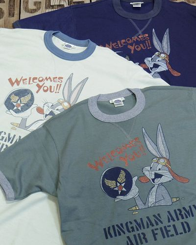 "画像1: TOYS McCOY -MILITARY TEE SHIRT ""KINGMAN ARMY AIR FIELD""-"