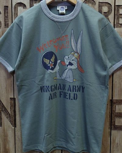 "画像4: TOYS McCOY -MILITARY TEE SHIRT ""KINGMAN ARMY AIR FIELD""-"