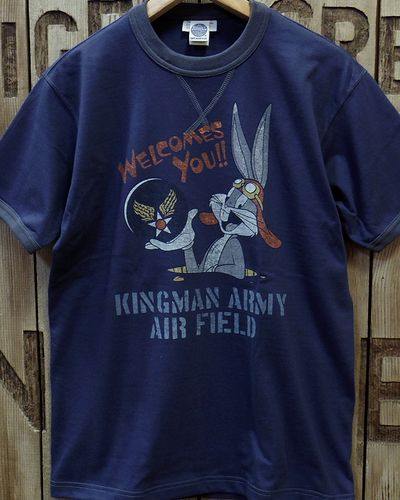 "画像2: TOYS McCOY -MILITARY TEE SHIRT ""KINGMAN ARMY AIR FIELD""-"