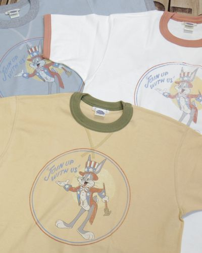 "画像1: TOYS McCOY -MILITARY TEE SHIRT ""JOIN UP WITH US""-"