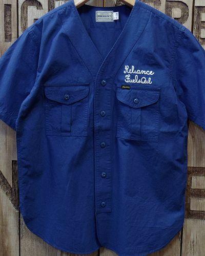 """画像3: Pherrow's -17S-PENS1"""" No Collar Work Shirt"""