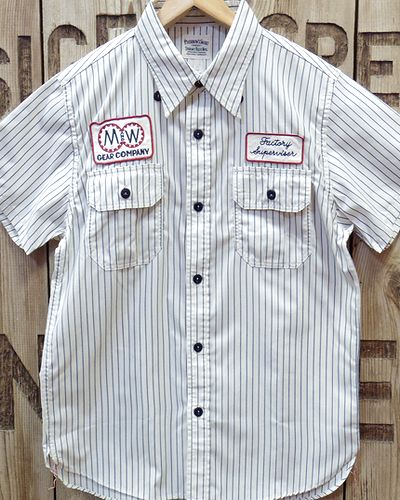 "画像3: Pherrow's ""17S-PWBD1-S"" S/S Work Shirt"