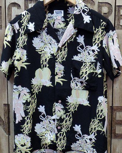 """画像2: Pherrow's """"17S-サキュレント"""" Hawaiian Shirts"""