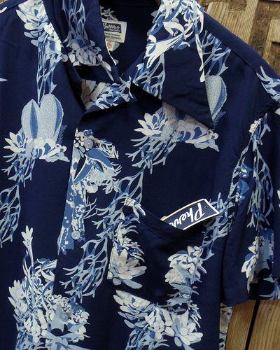 """画像3: Pherrow's """"17S-サキュレント"""" Hawaiian Shirts"""