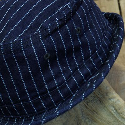 画像4: Sugar Cane -9oz. WABASH STRIPE PORKPIE HAT-