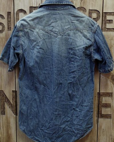 画像5: FOB FACTORY -8oz. DENIM S/S WESTERN SHIRT-