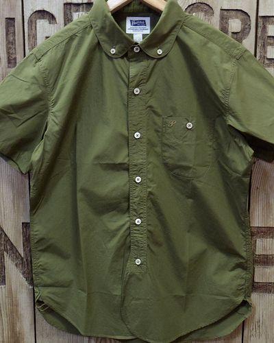 "画像2: Pherrow's ""17S-PRBDS1"" Round Collar S/S BD Shirt"