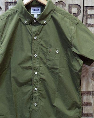 "画像1: Pherrow's ""17S-PRBDS1"" Round Collar S/S BD Shirt"