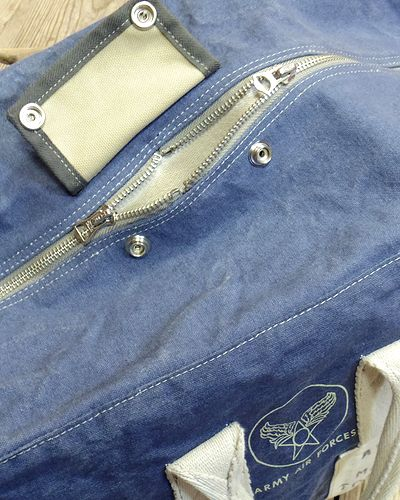 "画像3: TOYS McCOY -AVIATOR'S KIT BAG BLUE ""U.S.A.A.F.""-"