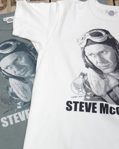 """画像1: TOYS McCOY -S.McQUEEN TEE™ """"WAR LOVER""""-"""