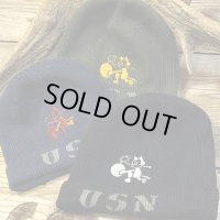 "TOYS McCOY -USN KNIT CAP ""FELIX THE CAT""-"
