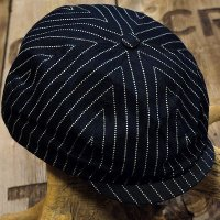 Sugar Cane -9oz. WABASH STRIPE APPLEJACK CAP-